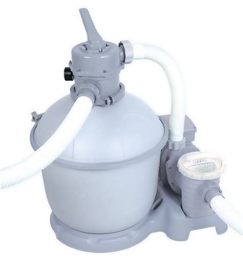 bestway flowclear   gallon silica sand filter pump