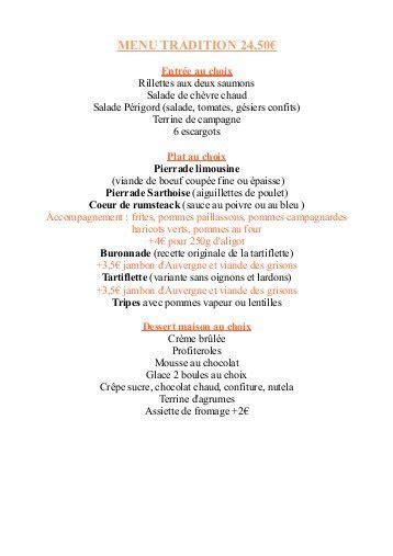 Carte De Menu Restaurant Pdf by T 233 L 233 Charger La Cartes Et Les Menus Auberge De Vandoeuvres