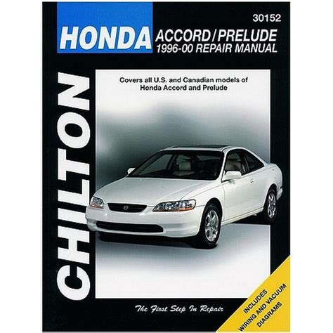 online car repair manuals free 2000 honda accord lane departure warning 1995 2000 honda accord and prelude repair chilton total car care manual northern auto parts