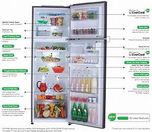 Lg Evercool Refrigerator Which Works Even With Frequent Power Cuts