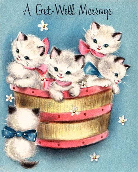 message kittens cat cards misc pinterest