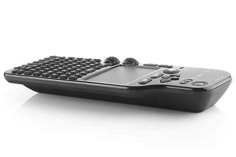blue webattv wireless keyboard  touchpad  remote