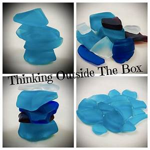 Make, Your, Own, Sea, Glass, Beach, Glass, Tumbled, Glass, For, Jewelry, Home, Decor, Diy