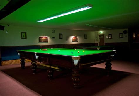 more pro lighting fitted recover size snooker table