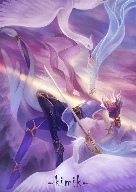 fiora league soaring sword fiora lol wallpapers