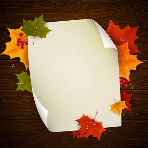 autumn harvest backgrounds vector