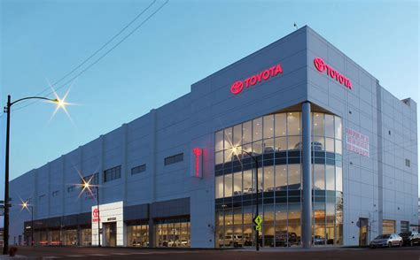 Toyota Dealership Chicago by Missner Completes 2nd Largest Toyota Dealership In U S