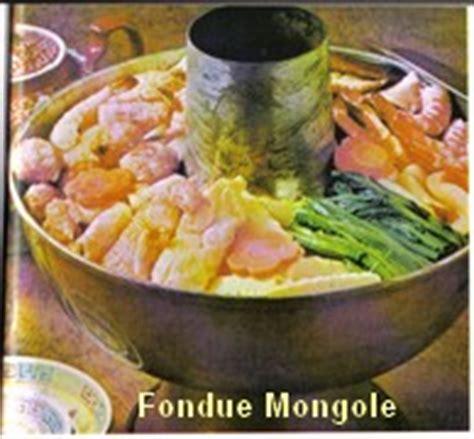 cuisine mongole recettes fondue mongole
