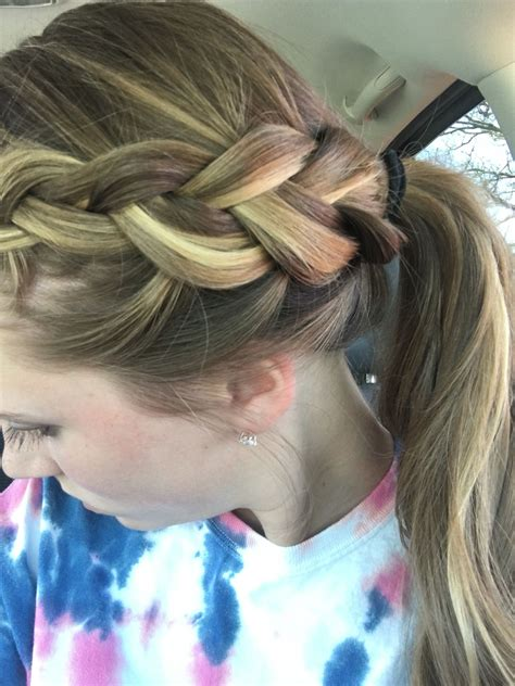 Cute hairstyle for practice Hair styles Cute hairstyles