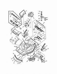 Mower Deck Diagram  U0026 Parts List For Model 7800580nxt22875e