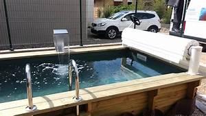Piscine Avec Cascade : piscine en bois avec cascade vercors piscine youtube ~ Premium-room.com Idées de Décoration