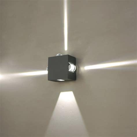 external led wall lights  stylish ways  decorate