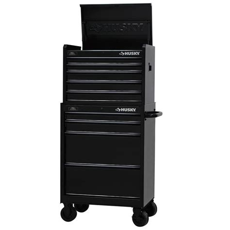 home depot husky cabinet husky 27 in w 9 drawer tool chest and cabinet set black