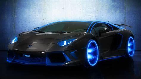 Hd Wallpaper Blue Car by Blue Lamborghini My Car
