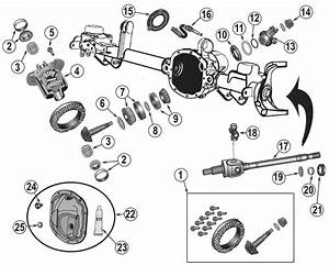1978 Jeep Dana 44 Front Axle Diagram
