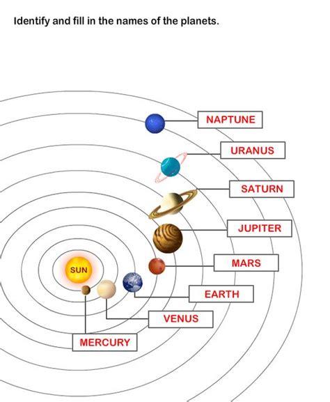solar system worksheet 6 science worksheets grade 1