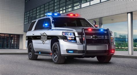 chevy vehicles 2018 2018 chevy tahoe ppv helps keep police officers safe the