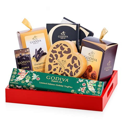 godiva christmas gift tray delivery in germany by