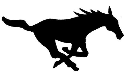 mustang horse silhouette mustang silhouette clipart best