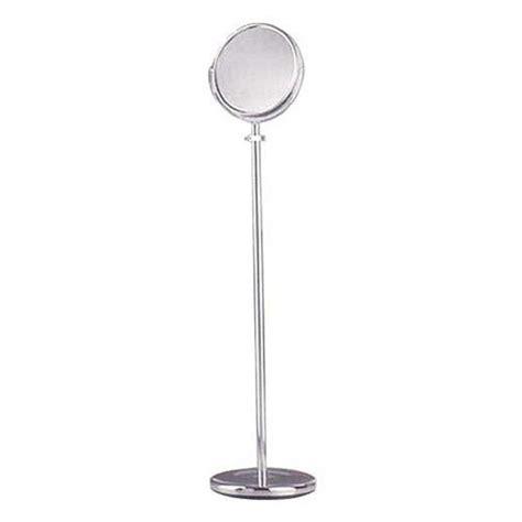 Bathroom Mirror Stand by Bathroom Mirrors Mirror Adjustable Floor Stand Chrome