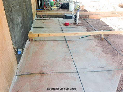 the suite pecan pouring the concrete slab hawthorne and
