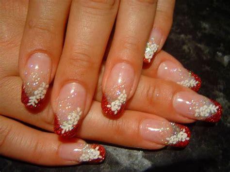 40 Red Wedding Nail Art Designs