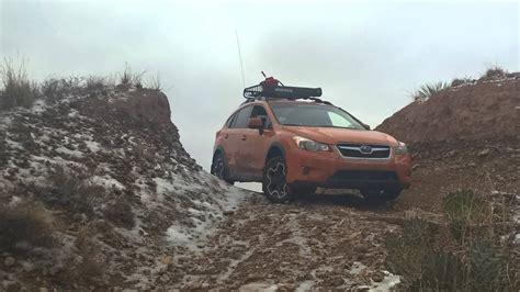 Subaru Crosstrek Icy Offroad