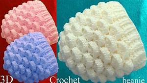 Crochet En S : gorro a crochet punto marshmallow malvaviscos 3d tejido ~ Nature-et-papiers.com Idées de Décoration