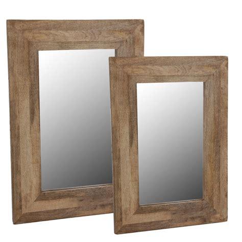 Rahmen Aus Holzscheiben Fuer Designer Spiegel by Wandspiegel Im Holzrahmen Badezimmer Spiegel Rahmen Massiv
