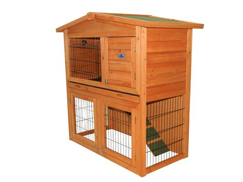 pet rabbit hutch confidence pet 40 rabbit hutch bunny guinea pig cage pen