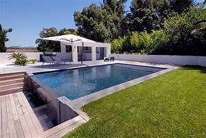 Piscine A Débordement : une piscine d bordement en collaboration avec carr bleu ~ Farleysfitness.com Idées de Décoration
