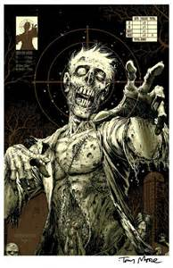 Tony Moore Zombie Target