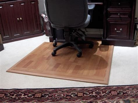 how to make a surface desk mat for a desk chair on carpet carpets chairs and floors