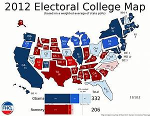 Frontloading HQ: The Electoral College Map (11/1/12)