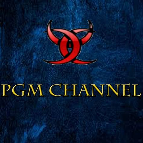 pgm chanel youtube