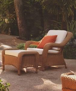 Repose Pied Salon : pouf repose pied de jardin en r sine tress e brin d 39 ouest ~ Teatrodelosmanantiales.com Idées de Décoration