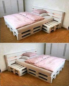21 Ideen Fuer Palettenbett Im Schlafzimmerpaletten Bett Mit Led Leuchten by 21 Ideen F 252 R Palettenbett Im Schlafzimmer