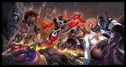 Blackest Night Jsa Comics Toolkitten Deviantart Dc