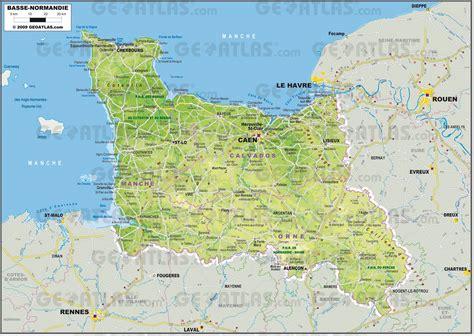 Carte Region Normandie by Carte De La Basse Normandie Plusieurs Cartes De La R 233 Gion