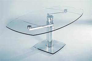 Tavolo in cristallo allungabile ADVANCE in offerta Tavoli a prezzi scontati