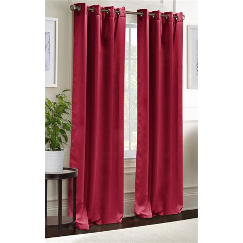 blackout curtains grommet window panel pair 38 quot x84 quot room
