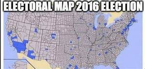 That Viral Map Comparing The 2016 Election Results To The