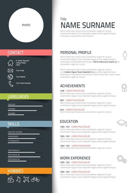 Create Free Cv by Graphic Designer 3 Resume Format Exemple Cv Cv