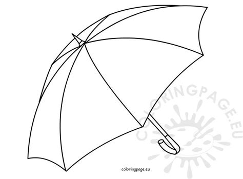 umbrella open kids coloring pages  print coloring page