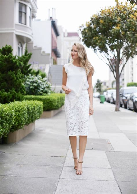 Trendy Lace Skirt Summer Outfit Ideas u2013 Designers Outfits Collection