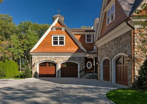 arched garage doors Exterior Traditional with carriage