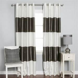 Rideau Noir Et Gris : les rideaux occultants les plus belles variantes en photos ~ Melissatoandfro.com Idées de Décoration