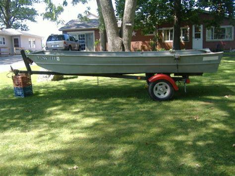 Appleby 14 Foot Flat Bottom Jon Boat With Highlander Boat