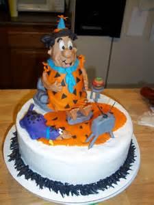 Fred Flintstone Birthday Cake