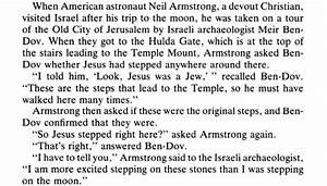 Walking on the Moon vs. Walking in Jerusalem « Menachem Mendel